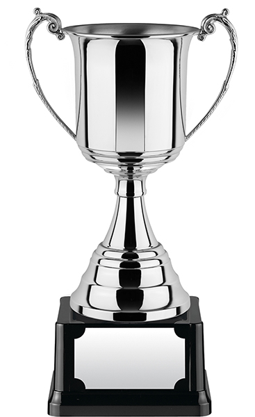 """Revolution Nickel Plated Presentation Cup with Rolled Edge 37.5cm (14.75"""")"""