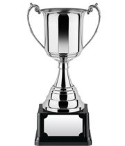 """Revolution Nickel Plated Presentation Cup with Rolled Edge 22cm (8.75"""")"""