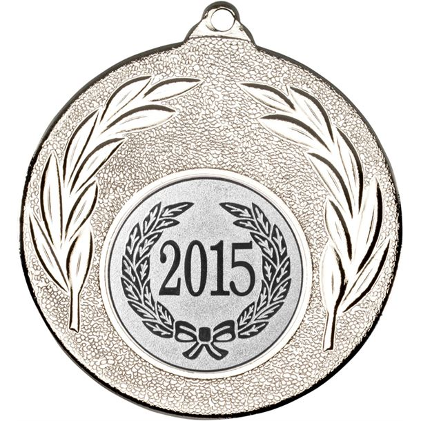 "2015 Silver Leaf Medal 50mm (2"")"