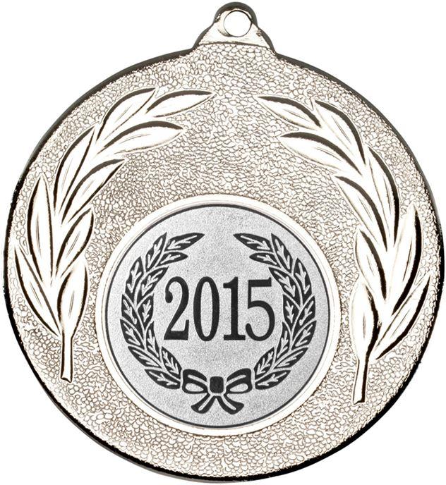 """2015 Silver Leaf Medal 50mm (2"""")"""