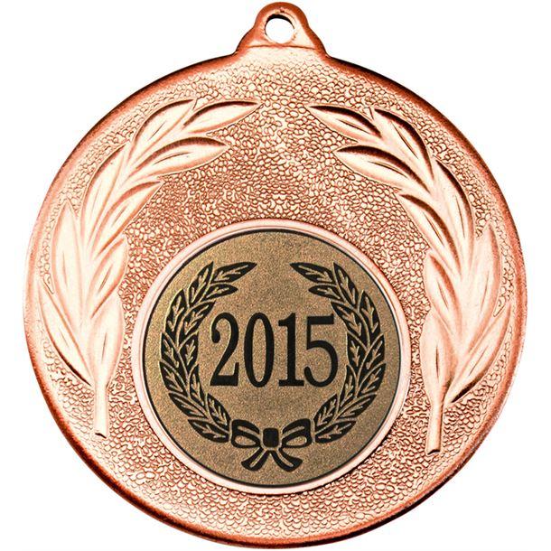 """2015 Bronze Leaf Medal 50mm (2"""")"""