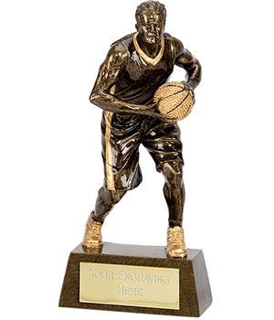 """Male Basketball Player Trophy 18.5cm (7.25"""")"""