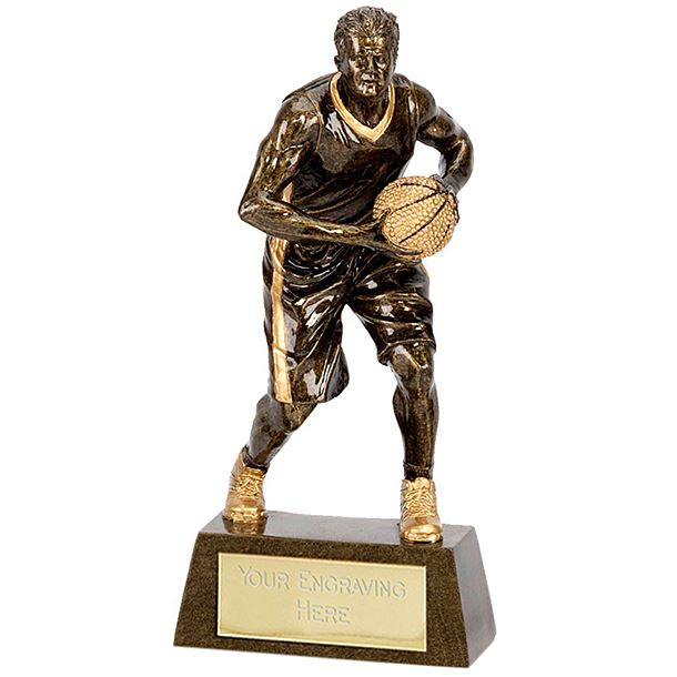"""Male Basketball Player Trophy 15cm (6"""")"""