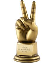 "Churchill Victory Award! Hand Gesture Award 22cm (8.75"")"