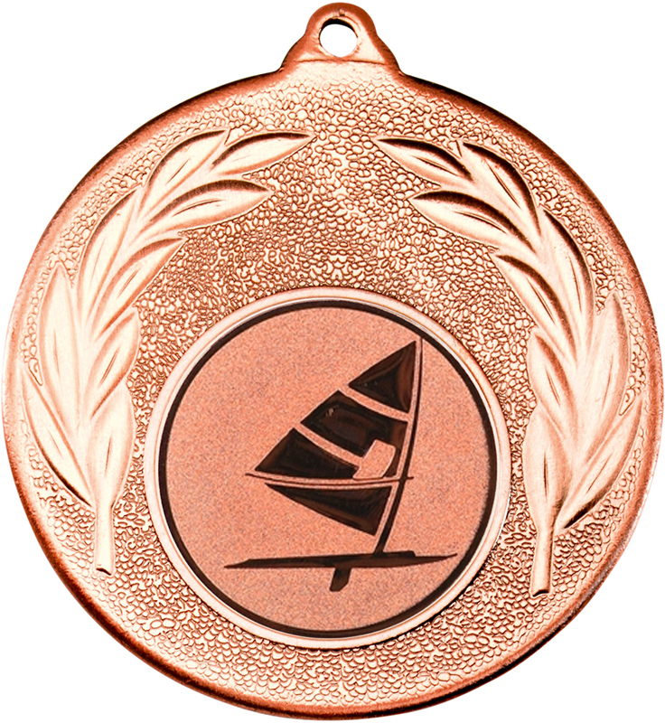 "Bronze Leaf Medal with 1"" Windsurfing Centre Disc 50mm (2"")"