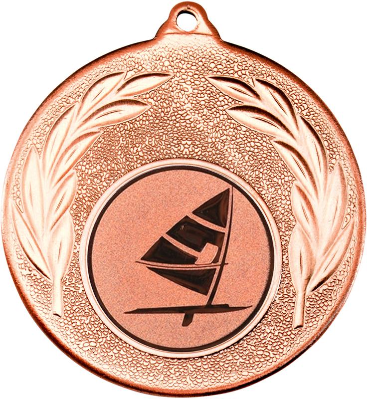 "Bronze Leaf Medal with 1"" Windsurfing Centre Disc 50mm (2"")"