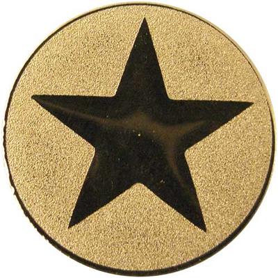 "Gold Metal Star 1"" Centre Disc"