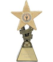 "Multi Awards Star Design Trophy 10cm (4"")"