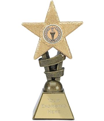 "Multi Awards Star Design Trophy 10cm (4"")"