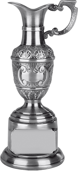 "Resin St Anne's Claret Award in Antique Silver Finish 16.5cm (6.5"")"