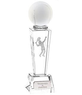 "Optical Crystal Unite Female Tennis Award 21.5cm (8.5"")"