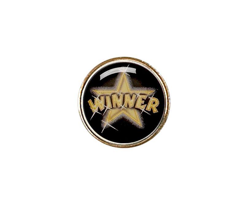 """Economy Metal Lapel Badge 25mm (1"""")"""