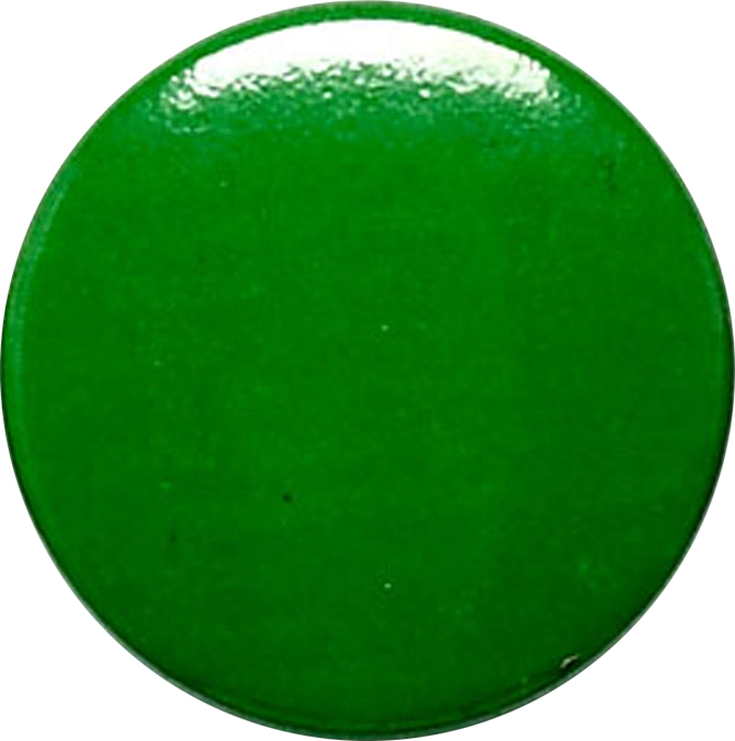 "Green Pin Badge 25mm (1"")"