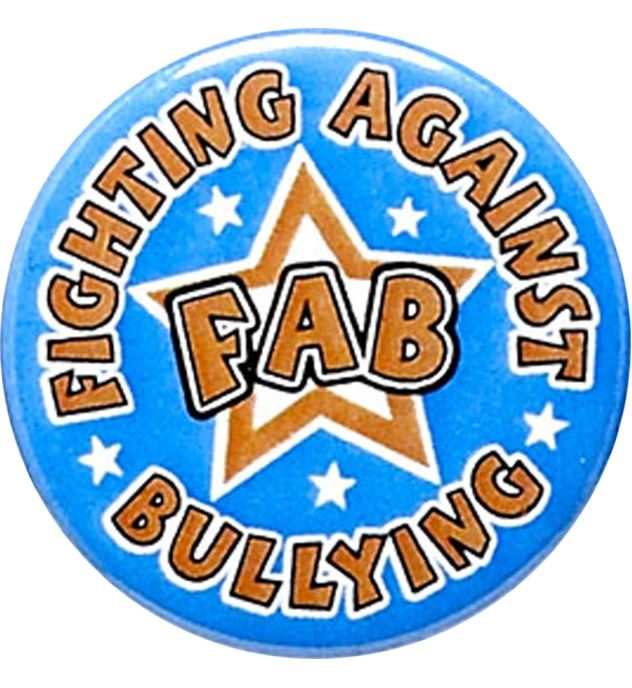 """Fighting Against Bullying Pin Badge 25mm (1"""")"""