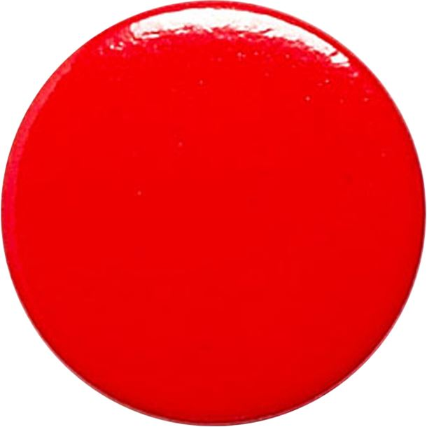 """Red Pin Badge 25mm (1"""")"""