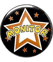 """Monitor Pin Badge 25mm (1"""")"""