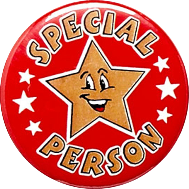 """Special Person Pin Badge 25mm (1"""")"""