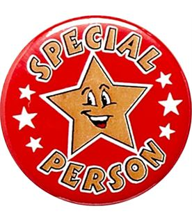 "Special Person Pin Badge 25mm (1"")"