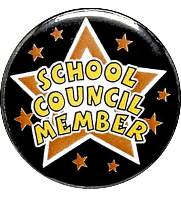 "School Council Member Pin Badge 25mm (1"")"