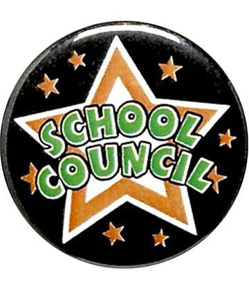 "School Council Pin Badge 25mm (1"")"