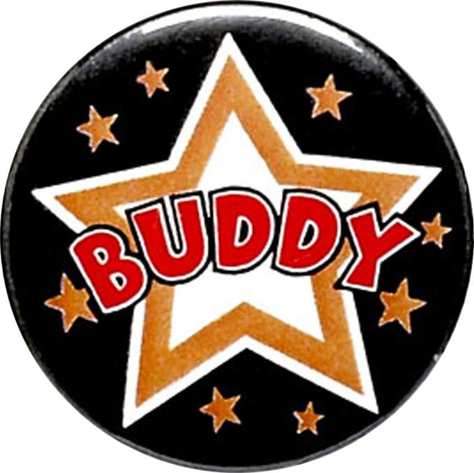 "Buddy Pin Badge 25mm (1"")"