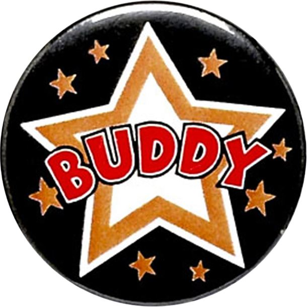 "Buddy Pin Badge 25mm (1"")"