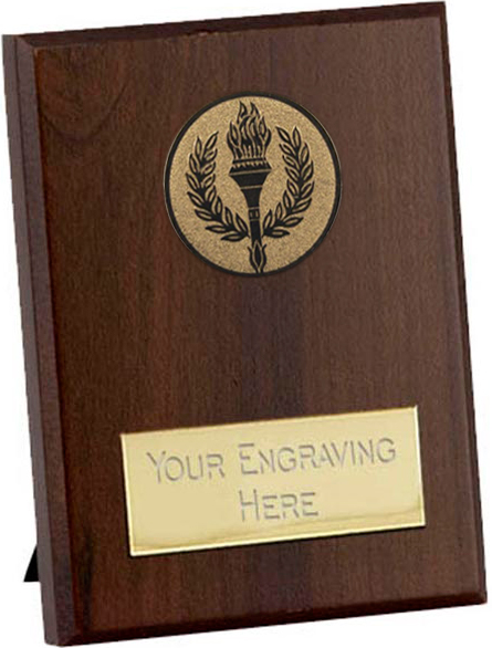 "Cherry Presentation Plaque with Rear Strut 8.5cm (3.25"")"