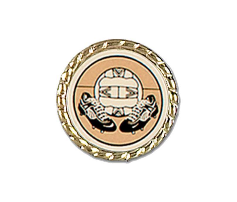 """Metal Lapel Badge 25mm (1"""")"""