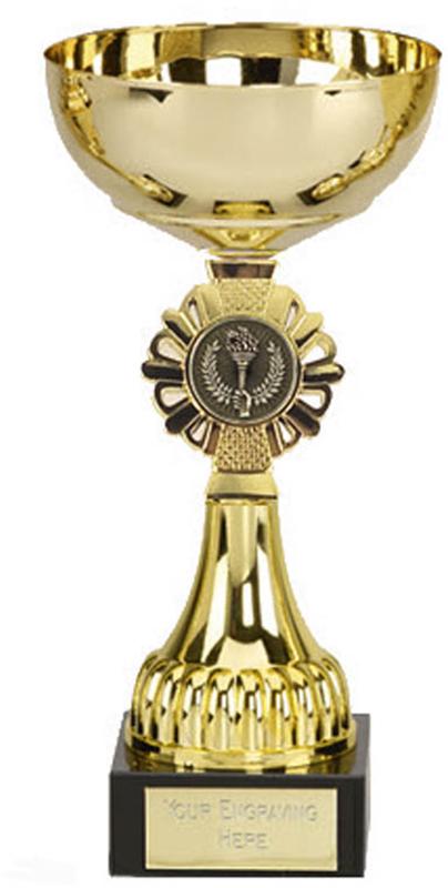 "Shield Gold Presentation Cup 20.5cm (8"")"