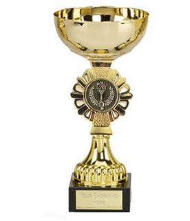 "Shield Gold Presentation Cup 16cm (6.25"")"