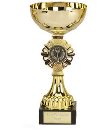 "Shield Gold Presentation Cup 17cm (6.75"")"