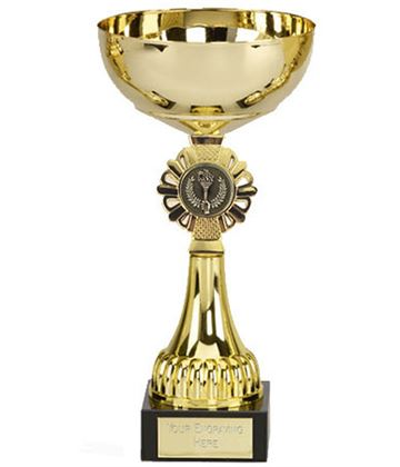 "Shield Gold Presentation Cup 21.5cm (8.5"")"