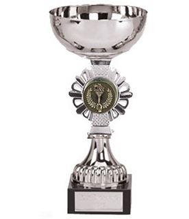 "Shield Silver Presentation Cup 16cm (6.25"")"