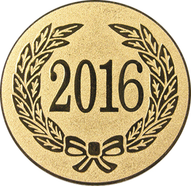"Gold Metal 2016 1"" Centre Disc"