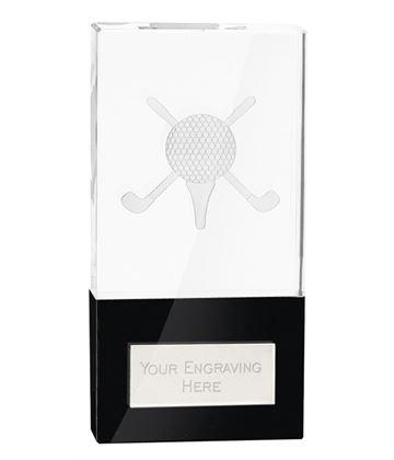 "London Golfball Crystal Award 11.5cm (4.5"")"