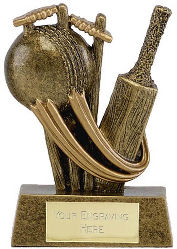 "Epic Resin Mini Cricket Trophy 7.5cm (3"")"