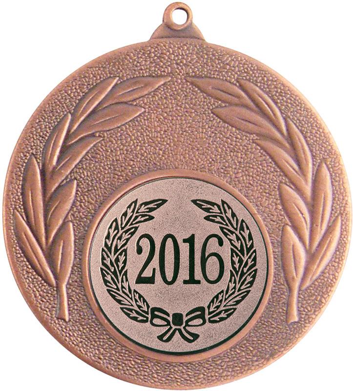 """2016 Bronze Leaf Medal 50mm (2"""")"""