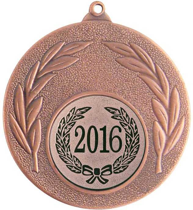 "2016 Bronze Leaf Medal 50mm (2"")"