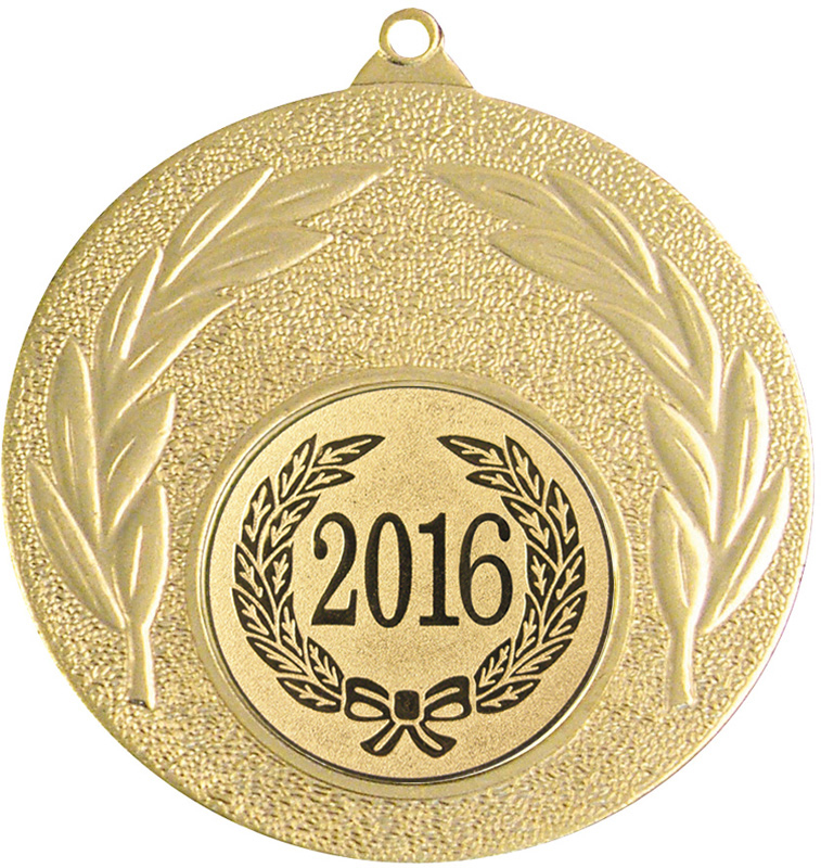 "2016 Gold Leaf Medal 50mm (2"")"
