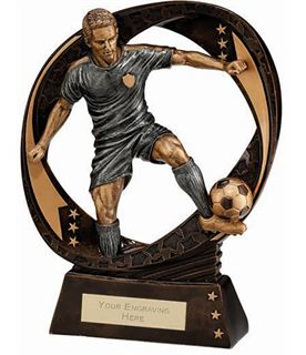 "Typhoon Football Figure Trophy 17cm (6.75"")"