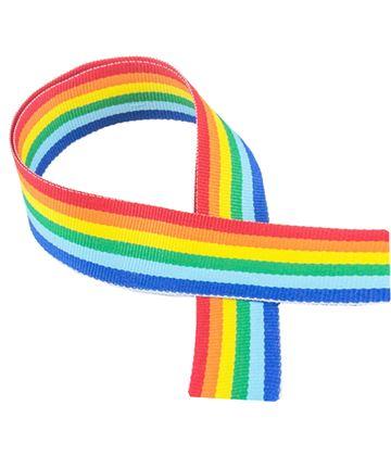 "Rainbow Medal Ribbon 80cm (32"")"