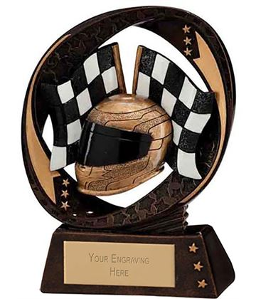 "Typhoon Motorsport Trophy 9cm (3.5"")"