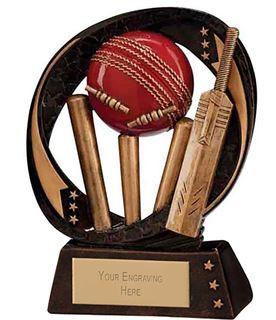 "Typhoon Cricket Trophy 9cm (3.5"")"