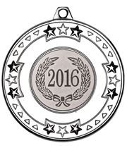 "2016 Silver Star & Pattern Medal 50mm (2"")"