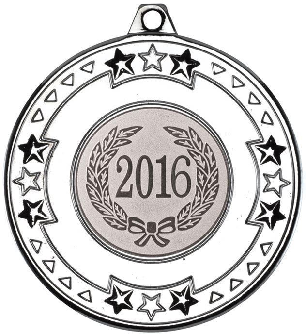 "2016 Silver Star & Pattern Medal 50mm (2"")"