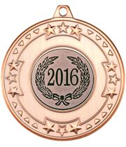"2016 Bronze Star & Pattern Medal 50mm (2"")"