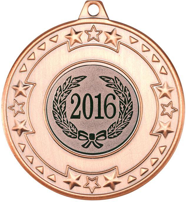 "2016 Bronze Star & Pattern Medal 50mm (2"")"