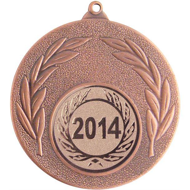 """2014 Bronze Leaf Medal 50mm (2"""")"""