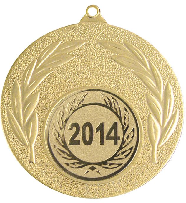 "2014 Gold Leaf Medal 50mm (2"")"