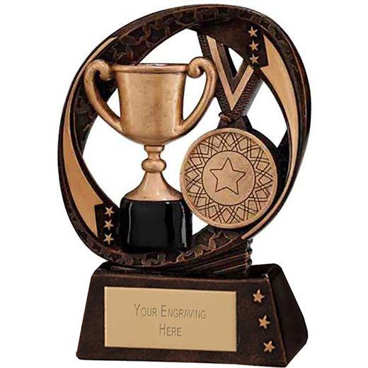 "Typhoon Achievement Award Trophy 9cm (3.5"")"